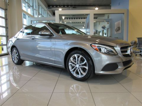 Certified Pre-Owned 2015 Mercedes-Benz C-Class C300 RWD 4dr Car