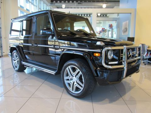Certified Pre-Owned 2015 Mercedes-Benz G-Class G63 AMG® AWD 4MATIC®