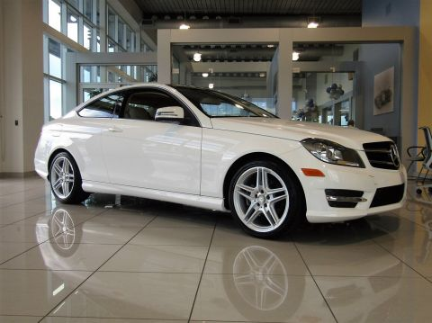 Certified Pre-Owned 2015 Mercedes-Benz C-Class C250 RWD 2dr Car