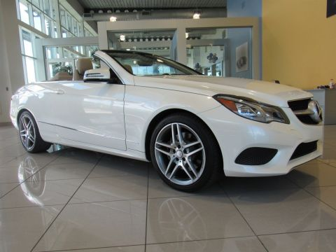 Certified Pre-Owned 2014 Mercedes-Benz E-Class E350 RWD Convertible