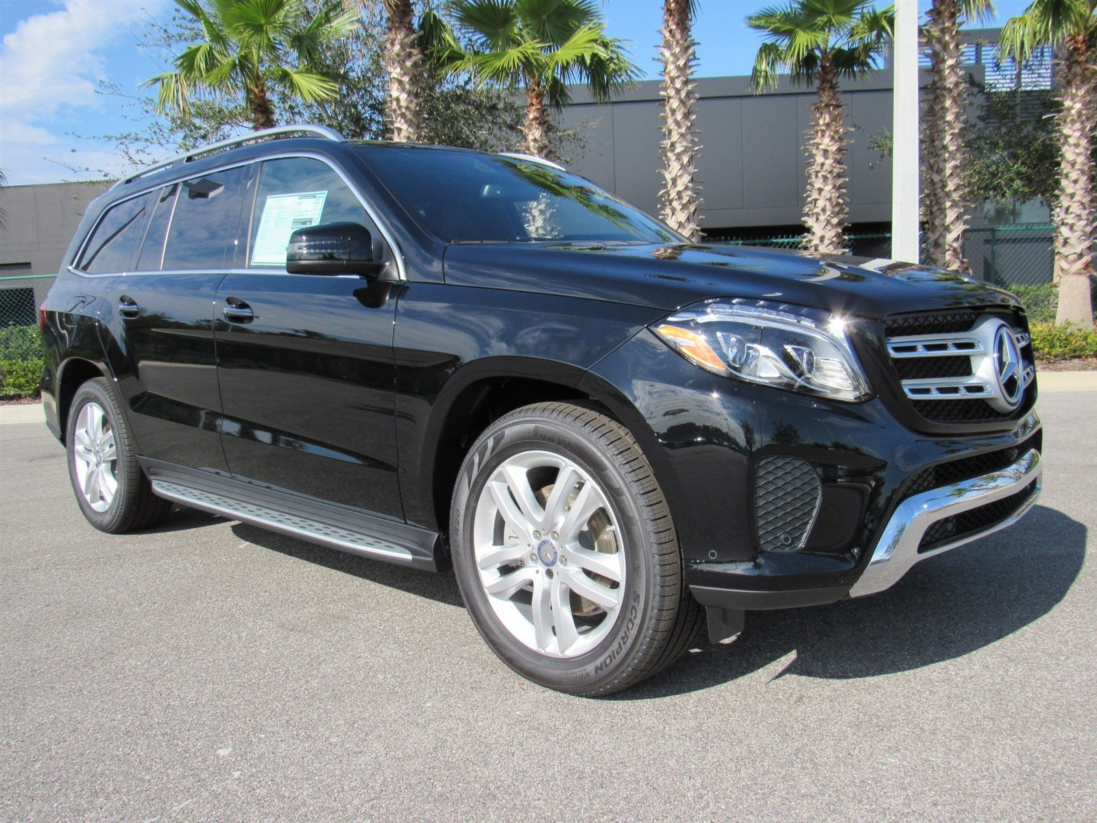 New 2017 mercedes benz gls gls 450 4matic sport utility for 2017 mercedes benz gls 450