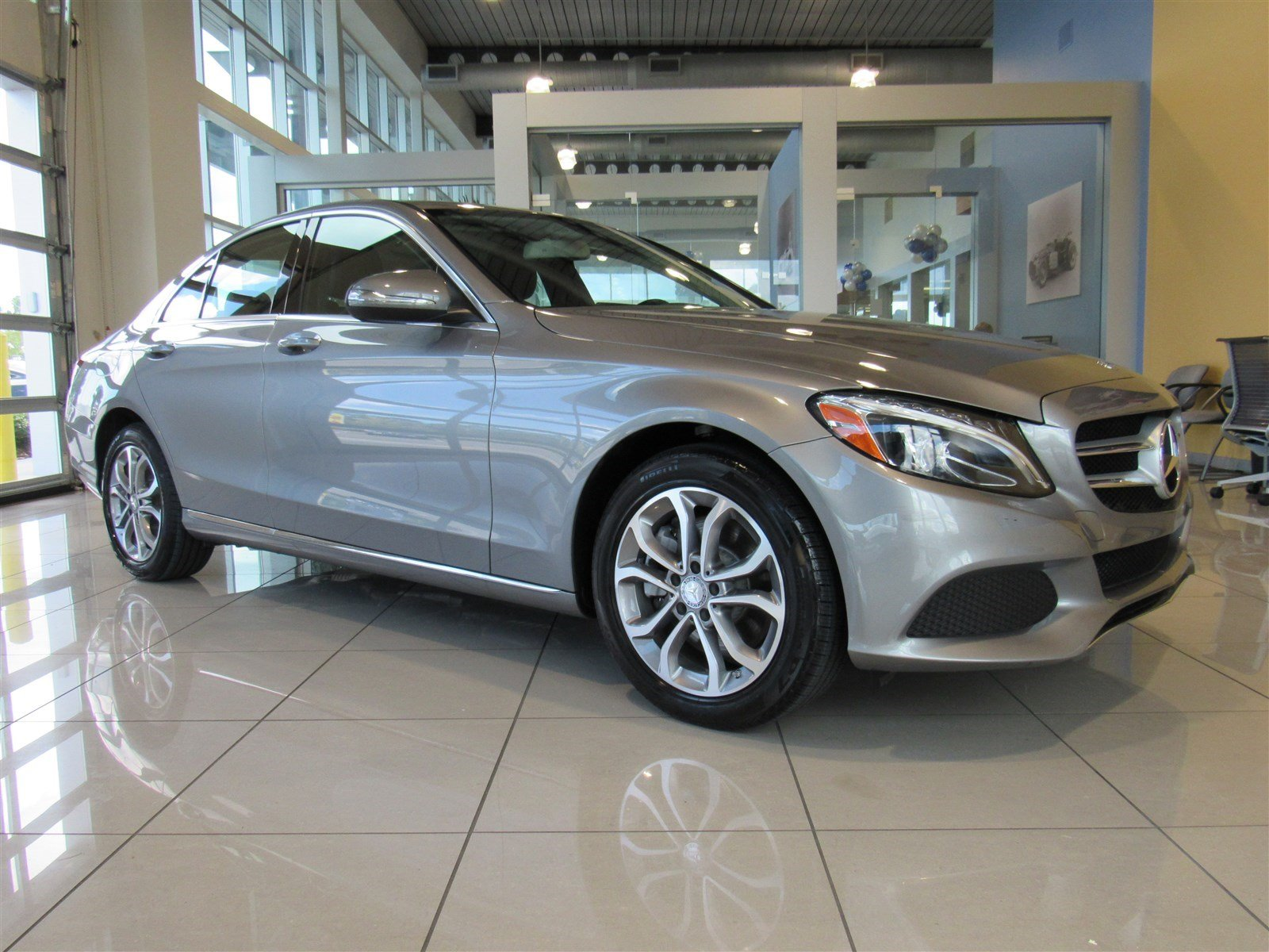 Certified pre owned 2015 mercedes benz c class c300 4dr for Mercedes benz certified used cars