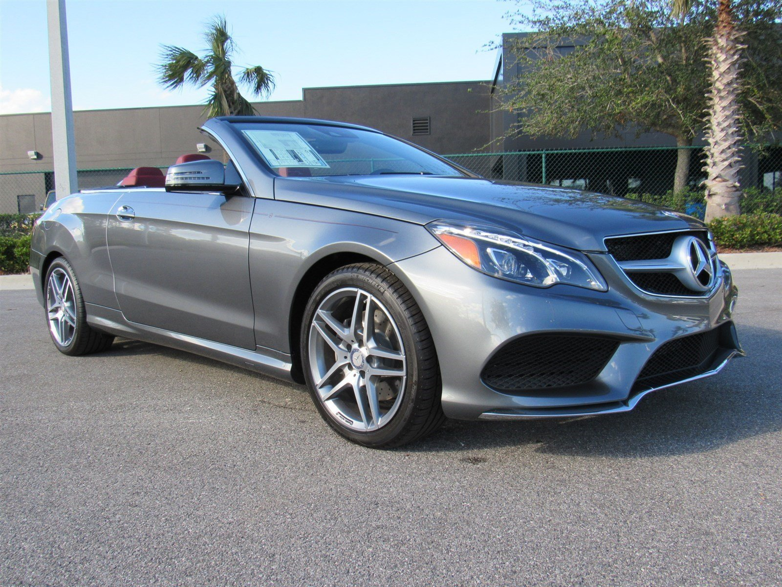 New 2017 mercedes benz e class e400 convertible in daytona for E400 mercedes benz 2017