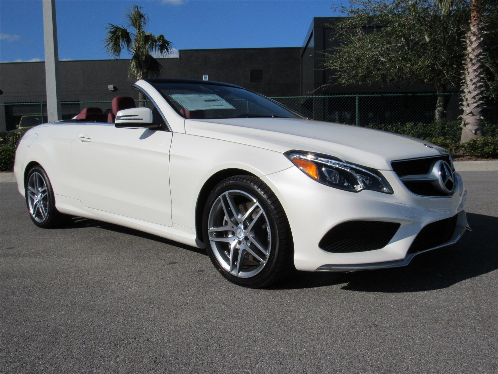new 2017 mercedes benz e class e550 convertible in daytona