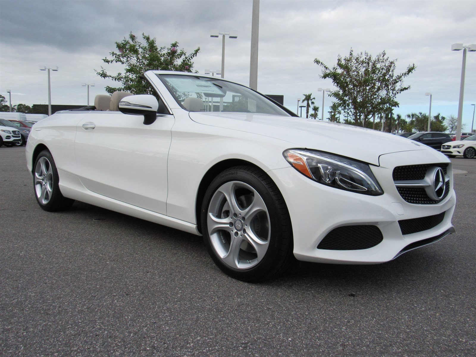 new 2017 mercedes benz c class c300 convertible in daytona