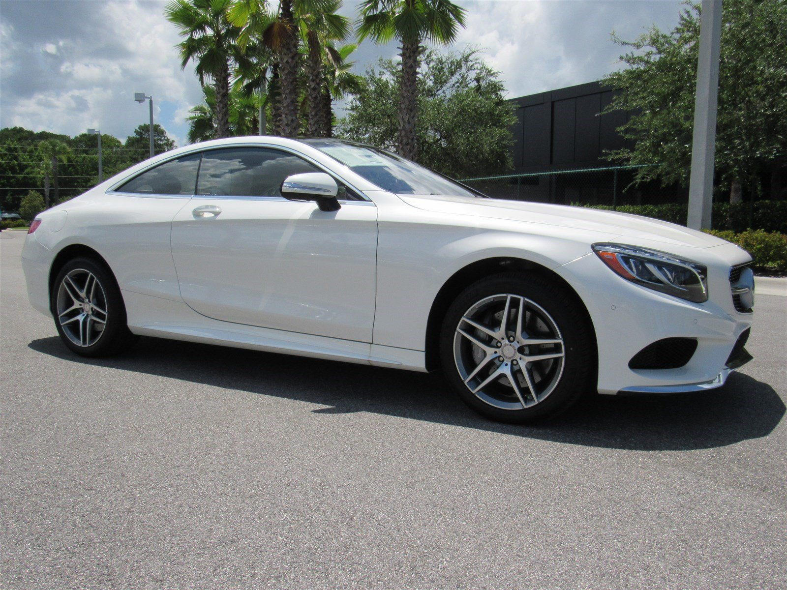 New 2016 mercedes benz s class s550 4matic 2dr car in for Mercedes benz daytona beach